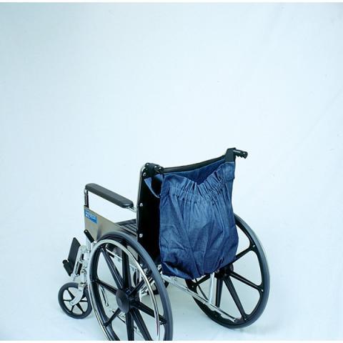 Denim Wheelchair Tote Bag
