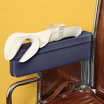 contoured wheelchair arm tray