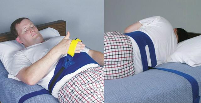 patient strap bed alarm