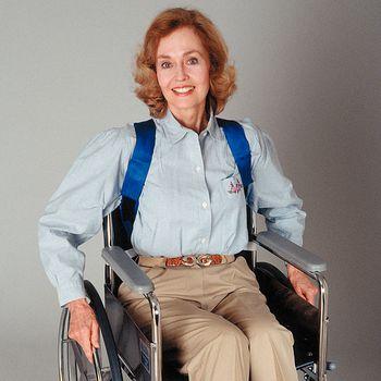 Wheelchair posture support