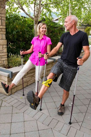 Urban Poling ACTIVATOR poles for rehab and exercise