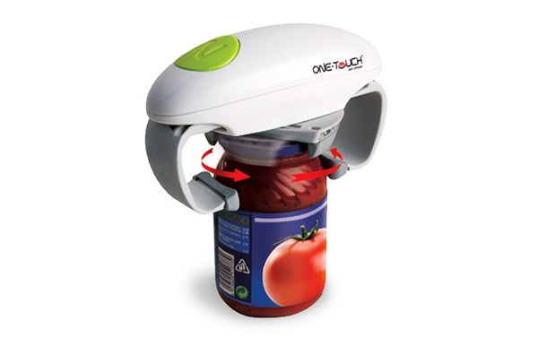 One touch automatic jar opener