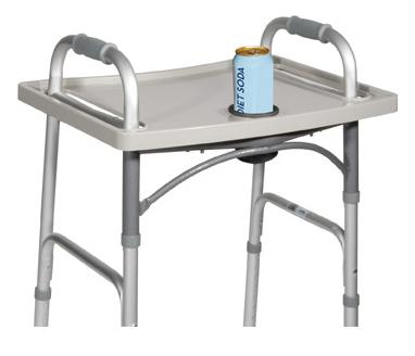 universal folding walker tray