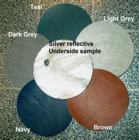 Econogaurd hot tub cover colors