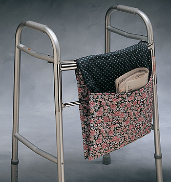 fabric folding walker pouch