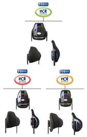 NXT Wheelchair backs
