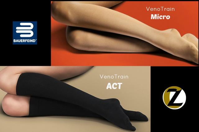 VenoTrain MICRO & VenoTrain ACT from Bauerfeind