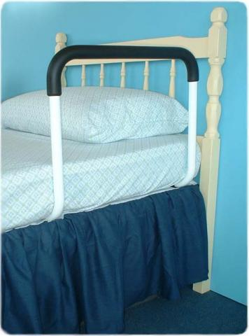 Steadymate one piece bed rail