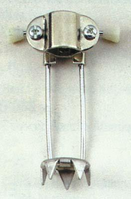 retractable ice pick for canes & crutches