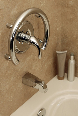 INVISIA quality decor grab bars