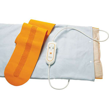 assorted sizes of Therma moist heating pad