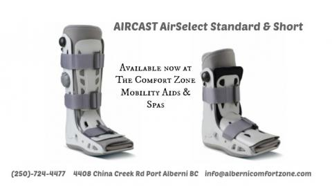 Now Selling Aircast AIRSELECT walking cast (short & tall) | Alberni