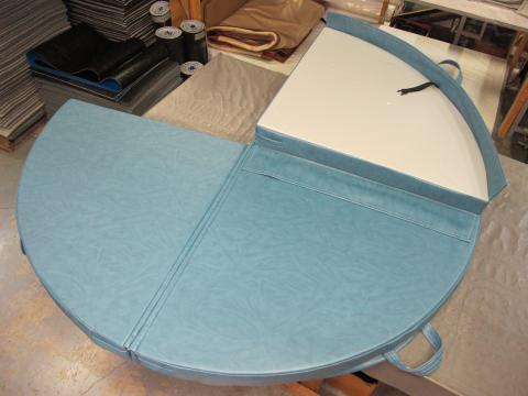 Custom Hot Tub Covers at The Comfort Zone Mobility Aids & Spas