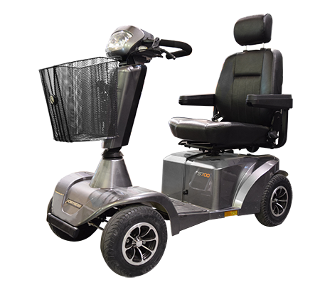 Sunrise Medical S700 Mobility Scooter is available at The comfort Zone Mobility Aids & Spas in Port Alberni, Vancouver Island BC. 250 724 4477