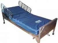 Full Electric bed with Therapeutic Foam mattress, Half rails or full rails