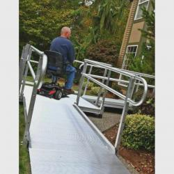 purchase and installation of Modular ramps. Call The Comfort Zone Mobility Aids & Spas for information and pricing 250 724 4477 or email info@albernicomfortzone.com