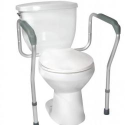 Toilet Safety Frame at The Comfort Zone Mobility Aids & Spas in Port Alberni Vancouver Island BC