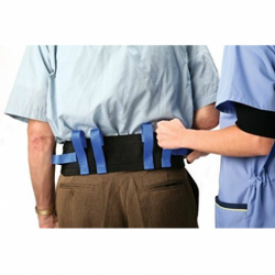 Transfer Belts for people who are unstable in walking or transfers. Available at The Comfort Zone Mobility Aids & Spas in Port Alberni, Vancouver Island, BC. Call for information and pricing 250 724 4477 or email info@albernicomfortzone.com