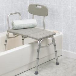 Transfer Bench at The Comfort Zone Mobility Aids & Spas in Port Alberni, Vancouver Island, BC