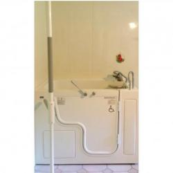 Walk in bath installlation done by The Comfort Zone Mobility Aids & Spas in Port Alberni, Vancouver Island, BC.  Call to set up an appointment for your onsite survey so that we can provide you with an accurate quote 250 724 4477 or email info@albernicomfortzone.com