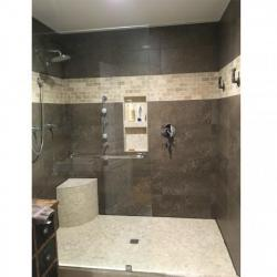 Walk in Shower installation done by The Comfort Zone Mobility Aids & Spas in Port Alberni, Vancouver Island, BC.  Call to set up an appointment for your onsite survey so that we can provide you with an accurate quote 250 724 4477 or email info@albernicomfortzone.com