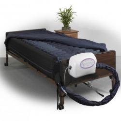 "10"" Lateral Rotation Mattress with on Demand Low Air Loss available for rent at The Comfort Zone Mobility Aids & Spas at Port Alberni, Vancouver Island British Columbia"