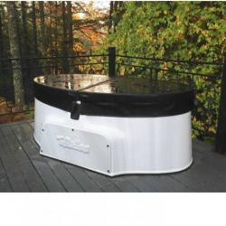 Coast Spas Patio Spa TUBLICIOUS installed by The Comfort Zone Mobility Aids & Spas in Port Alberni, Vancouver Island, BC.  Call to set up an appointment for your onsite survey so that we can provide you with an accurate quote 250 724 4477 or email info@albernicomfortzone.com
