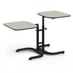 Comfortek Adjustable Height Dining Table available at The Comfort Zone Mobility Aids & Spas In Port Alberni , Vancouver Island BC. 250 724 4477