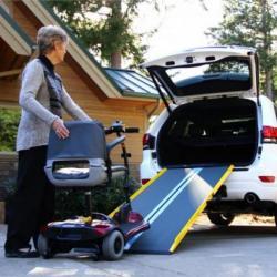 Suitcase Ramp Rental The Comfort Zone Port Alberni BC, Vancouver Island