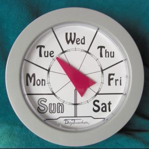 Daytracker clock