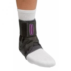Stabilized Ankle Support with metal stays