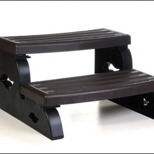 Solid weatherproof spa step in assortment of colors