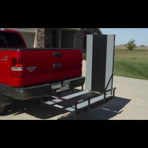 Prairie View Industries Hitch Mount Scooter Carrier w/Ramp