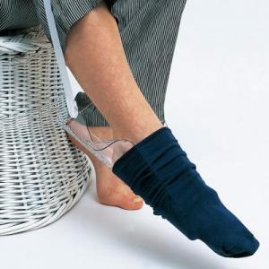 molded sock helper