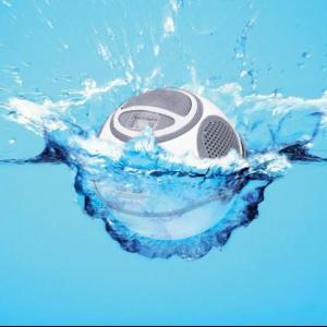 Aqua Dancer Floating mp3 player and radio w/speakers