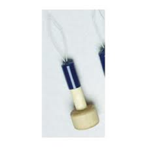 button hook (straight handle or knob)