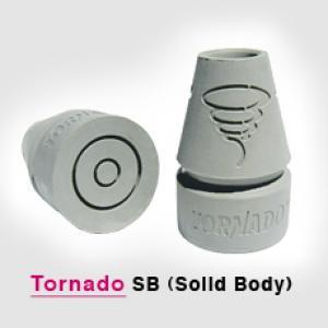 Tornado solid body flex crutch tips
