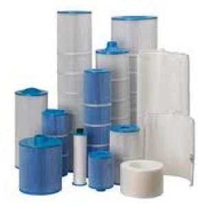 assortment of hot tub filters