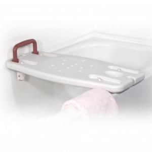12023 Tension Mount Portable Shower Bench with Handle available at The Comfort Zone Mobility Aids & Spas in Port Alberni, Vancouver Island, BC