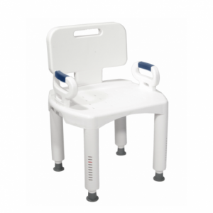 RTL12505 Bath & Shower Chair with handles available at The Comfort Zone Mobility Aids & Spas in Port Alberni, Vancouver Island, BC