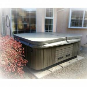 Coast Spas Patio Spa ARUBA installed by The Comfort Zone Mobility Aids & Spas in Port Alberni, Vancouver Island, BC.  Call to set up an appointment for your onsite survey so that we can provide you with an accurate quote 250 724 4477 or email info@albernicomfortzone.com