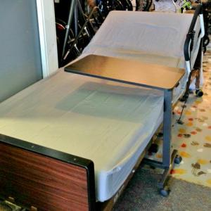 Over Bed Table Rentals at The Comfort Zone Mobility Aids & Spas in Port Alberni BC, Vancouver Island