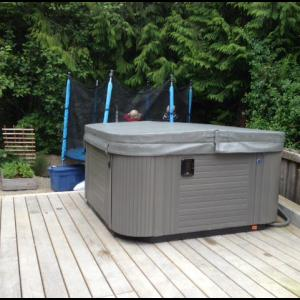 Coast Spas VANTAGE installed by The Comfort Zone Mobility Aids & Spas in Port Alberni, Vancouver Island, BC.  Call to set up an appointment for your onsite survey so that we can provide you with an accurate quote 250 724 4477 or email info@albernicomfortzone.com