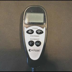 Remote for Lift / Recline Chair Rental at The Comfort Zone in Port Alberni BC Vancouver Island