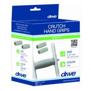 Replacement hand grips for crutches are available at The Comfort Zone Mobility Aids & Spas in Port Alberni, Vancouver Island, BC. Call for information and pricing 250 724 4477 or email info@albernicomfortzone.com