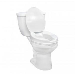 Raised Toilet Seat with Lid Rentals at The Comfort Zone Mobility Aids & Spas in Port Alberni Vancouver Island BC