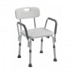 12445KD-1 Bath & Shower Chair with padded handles available at The Comfort Zone Mobility Aids & Spas in Port Alberni, Vancouver Island, BC