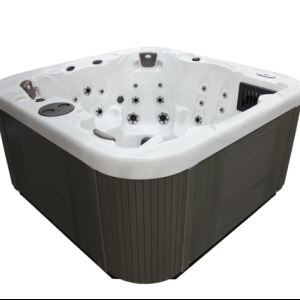 Coast Spas Northwind Vantage in White with Black Cabinet ALSO in Midnight Canyon with Grey Cabinet available at The Comfort Zone Mobility Aids & Spas in Port Alberni, Vancouver Island, BC. Call for information and pricing 250 724 4477 or email info@albernicomfortzone.com