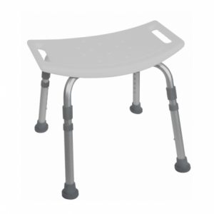 12203KD-4 Bath & Shower Stool with handles in seat available at The Comfort Zone Mobility Aids & Spas in Port Alberni, Vancouver Island, BC