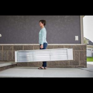 Folding Suitcase Ramp ready for transport or storage